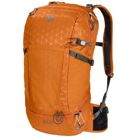 Jack Wolfskin Kingston 22 Pack, orange grid